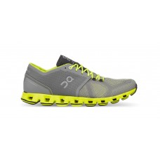 ON Pantofi alergare barbati Cloud X Grey Neon