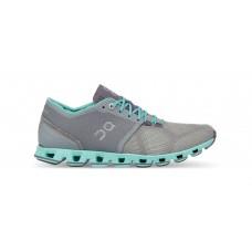 ON Pantofi alergare dama Cloud X Gri Albastru