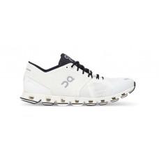 ON Pantofi alergare dama Cloud X Alb Negru