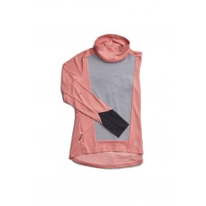 ON Bluza dama Weather shirt dustrose fosil
