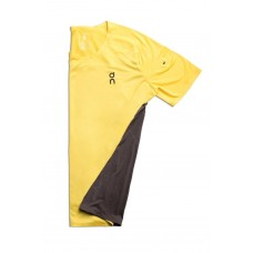 ON Tricou alergare barbati Performance-T Mustard Pebble
