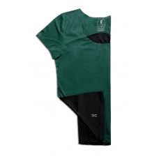 ON Tricou alergare dama Performance-T Evergreen Black