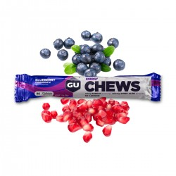 GU Energy Chews, Blueberry & Pomegranate