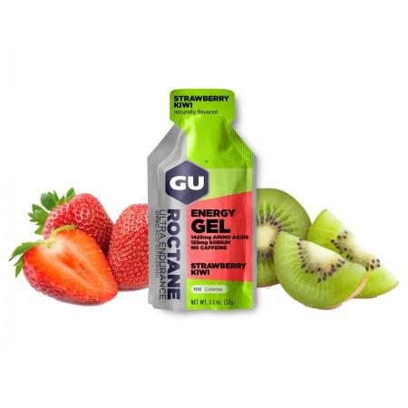 GU Roctane Energy Gel, Strawberry & Kiwi