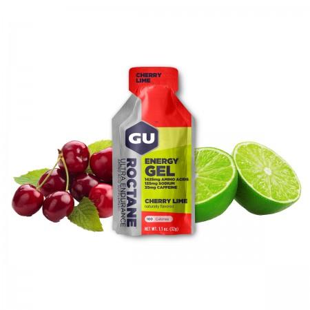 GU Roctane Energy Gel, Cherry & Lime