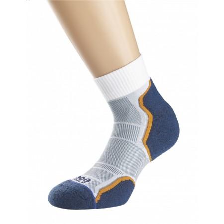1000 Mile Breeze Running Sock Barbati - NAVY/GREY