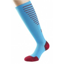 1000 Mile Compression Socks Unisex Kingfisher/Blue