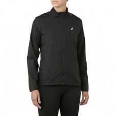 ASICS SILVER JACKET PERFORMANCE BLACK