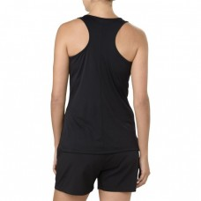 ASICS SILVER GRAPHIC TANK PERFORMANCE BLACK