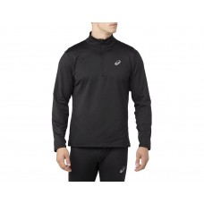 ASICS Barbati SILVER LS 1/2 ZIP WINTER TOP Black