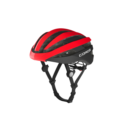 COROS SafeSound Smart Cycling Helmet - Road Red