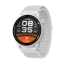 COROS PACE 2 Premium GPS Sport Watch White w/ Nylon Band