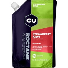 GU Roctane Energy Gel Strawberry Kiwi - 15 portii