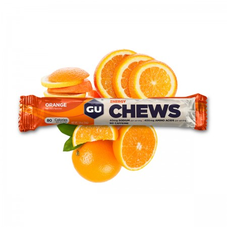 GU Energy Chews, Orange