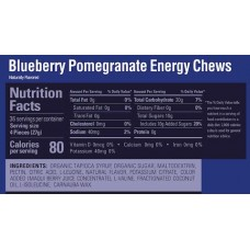 GU Energy Chews, Blueberry & Pomegranate