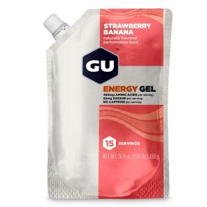 GU Gel, Strawberry Banana - 15 portii