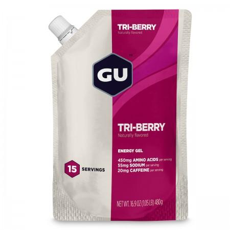 GU Gel, Tri-Berry - 15 portii