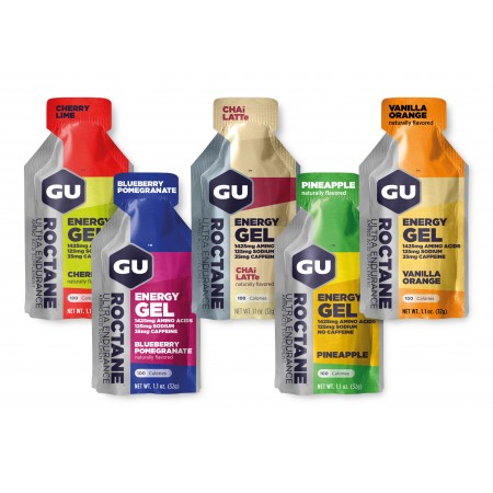 GU Gel Pack 3 Roctane - 10 buc.
