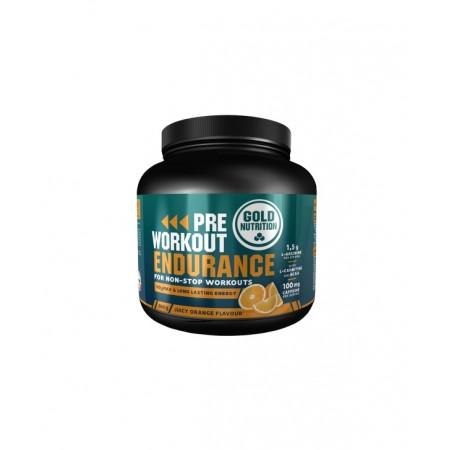 GoldNutrition PRE-WORKOUT Endurance Portocale 300g