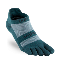 Injinji Run LW No-show, Nu-wool, Jasper