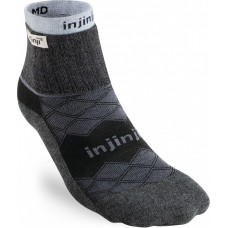 Injinji Linner+Runner Mini-Crew Black