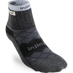 Injinji Linner+Runner Mini-Crew Black