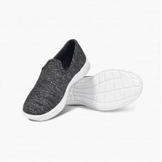 LeMouton Classic Wool Espadrile Dark Grey Unisex