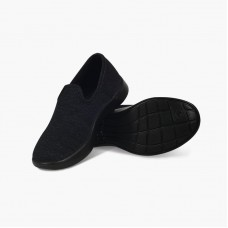 LeMouton Classic Wool Espadrile Black/Black Unisex
