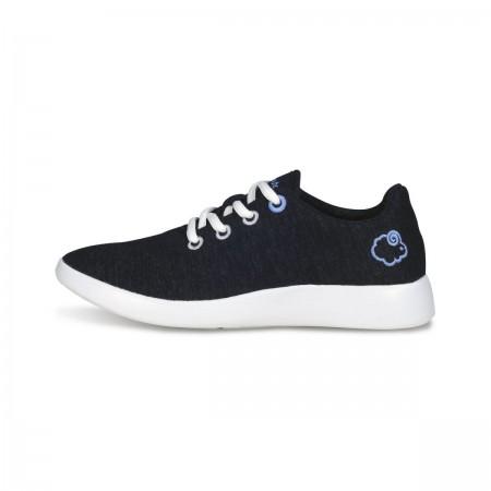 LeMouton Classic Wool shoes Black Unisex