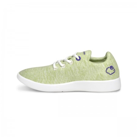 LeMouton Classic Wool shoes Olive Green Unisex