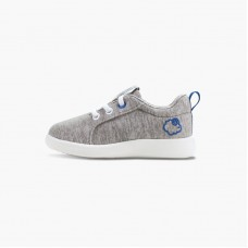 LeMouton Kids Lace-up Wool shoes Beige