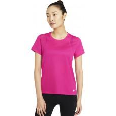 Nike Tricou Alergare Dama NK RUN TOP SS Pink SS'21