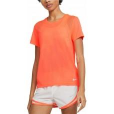 Nike Tricou Alergare Dama NK RUN TOP SS Orange SS'21