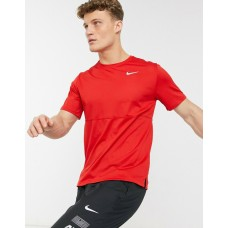Nike Tricou Alergare Barbati BREATHE RUN TOP Red SS'21