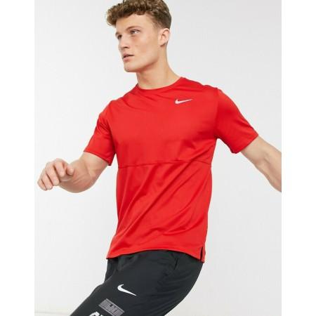 Nike Tricou Alergare Barbati BREATHE RUN TOP Lime SS'21