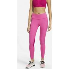 Nike Colanti Alergare Dama DF Challenger Leggings Pink SS'21