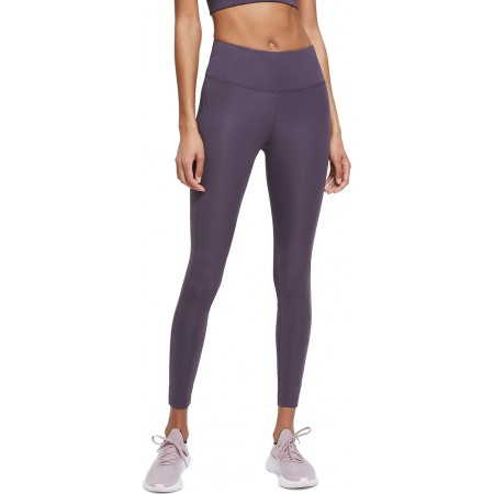 Nike Colanti Alergare Dama DF Challenger Leggings Dark Raisin SS'21