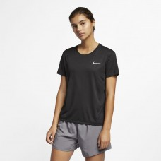 Nike Tricou Alergare Dama MILER TOP SS Black SS'21