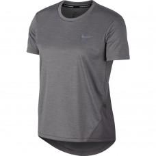 Nike Tricou Alergare Dama MILER TOP SS Grey SS'21