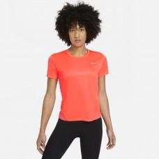 Nike Tricou Alergare Dama MILER TOP SS Orange SS'21