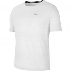 Nike Tricou Alergare Barbati MILER TOP SS White SS'21