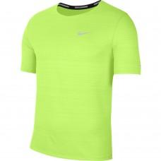 Nike Tricou Alergare Barbati MILER TOP SS Green SS'21