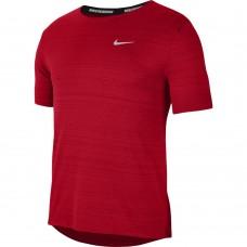 Nike Tricou Alergare Barbati MILER TOP SS Red SS'21