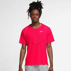 Nike Tricou Alergare Barbati DFADV Techknit Ultra Bright Crimson/Hyper Pink FW'21