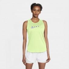 Nike Maiou Alergare Dama NK SWOOSH RUN TANK Green SS'21