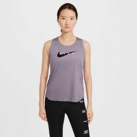 Nike Maiou Alergare Dama NK SWOOSH RUN TANK Purple SS'21