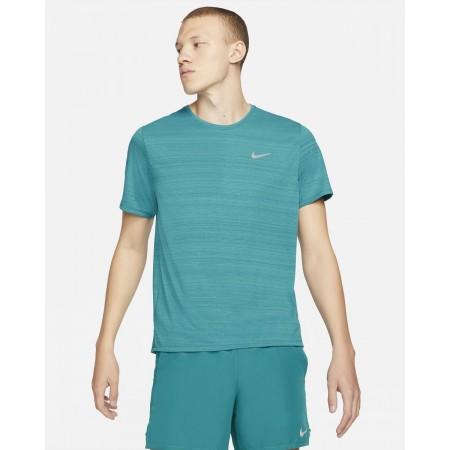 Nike Tricou Alergare Barbati MILER TOP SS Bluestery SS'21