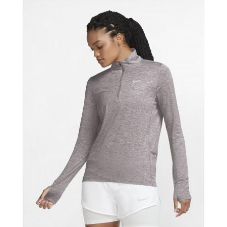 Nike Bluza Alergare Dama DF ELEMENT TOP HZ Silver Lilac FW'21
