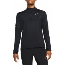Nike Bluza Alergare Barbati DF ELEMENT TOP HZ Black FW'21