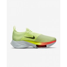 Nike Pantofi Alergare Barbati AIR ZOOM TEMPO NEXT% FK Barely Volt/Orange Hyper FW'21